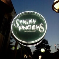 Photo taken at Sticky Fingers Ribhouse by Brad A. on 5/9/2012