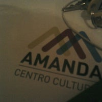 Photo taken at Centro Cultural Amanda by Adriana M. on 8/7/2012