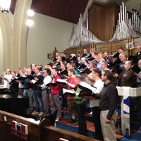 Photo taken at Chor Leoni Rehearsal by Bruce H. on 4/14/2012