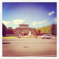 Photo taken at Театральная площадь by Alexander K. on 8/14/2012