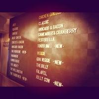 Photo taken at Gourmet Burger Kitchen by John W. on 6/16/2012