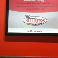 Photo taken at Bullritos by Bret Austin Y. on 7/19/2012