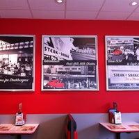 Photo taken at Steak 'n Shake by Natalie C. on 4/27/2012