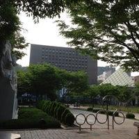Photo taken at Soongsil University by kim y. on 6/11/2012