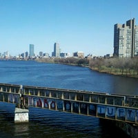 Photo taken at Boston University Bridge by Phillip K. on 3/26/2012