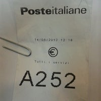 Photo taken at Poste Italiane by Guido G. on 6/14/2012