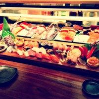 Photo taken at Blue Ribbon Sushi Bar & Grill by Hannah Y. on 2/25/2012