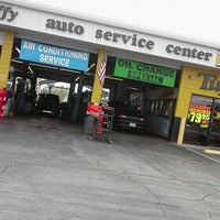 Photo taken at Tuffy Auto Service Center by Jeanette P. on 3/9/2012
