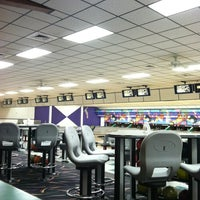 Photo taken at Buffaloe Lanes South Bowling Center by Torie on 2/16/2012