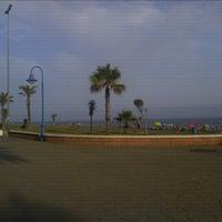 Photo taken at Rincón de la Victoria Beach by Gustavo M. on 7/13/2012