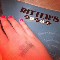 Photo taken at Ritter's Diner by Kristen Z. on 4/14/2012