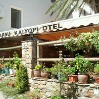 Photo taken at Akarsu Kalyopi Butik Otel by Berkay T. on 8/26/2012