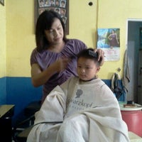 Photo taken at Yessy Salon by Chandra I. on 5/24/2012