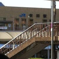Photo taken at JR Suita Station by Tsuyoshi I. on 7/8/2012