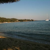 Photo taken at ISLA Beach Bar by Olivia G. on 7/19/2012