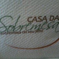 Foto tirada no(a) Casa da Sobremesa por Vinicius d. em 2/25/2012