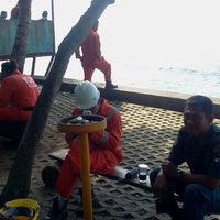 Photo taken at Gazzebo Pinggir Laut by firmana A. on 9/13/2012
