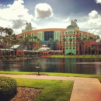 Photo taken at Walt Disney World Swan Hotel by Jeff C. on 8/5/2012