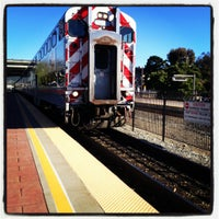 Photo taken at Hayward Park Caltrain Station by Shawn M. on 6/21/2012