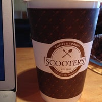 Photo taken at Scooter's Coffeehouse by Jordan J. on 6/12/2012