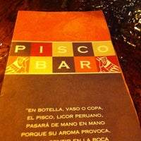 Photo taken at PiscoBar Restobar by Elipao L. on 5/26/2012