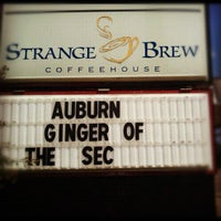 Photo taken at Strange Brew Coffeehouse by StrangeBrewCoffeehouse C. on 9/5/2012