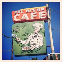 Photo taken at Eel River Cafe by Aaron L. on 8/1/2012