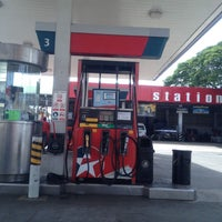 Photo taken at Caltex Gas Station by Charlene R. on 8/23/2012