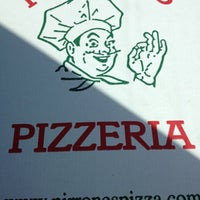 Photo taken at Pirrone's Pizzeria by Mark K. on 7/25/2012