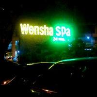 Photo taken at Wensha Spa by Marlo M. on 3/16/2012