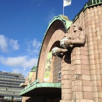 Photo taken at VR Helsinki Central Railway Station by Leon C. on 9/5/2012