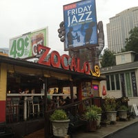 Photo taken at Zocalo Mexican Kitchen & Cantina by Jason F. on 7/18/2012