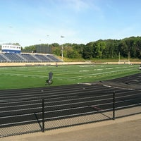 Photo taken at Chanhassen High School by Nick T. on 8/23/2012