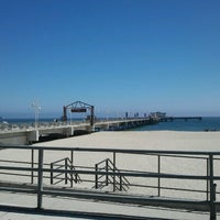 Photo taken at Belmont Veterans Memorial Pier by Leigh S. on 6/28/2012
