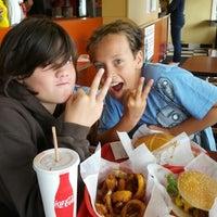 Photo taken at Phyllis' Giant Burgers - San Rafael by David W. on 6/22/2012