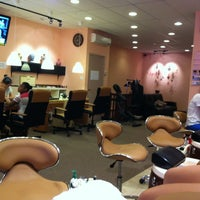 Photo taken at Cupid Nails & Spa by Tiffany D. on 7/23/2012