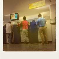 Photo taken at Banco do Brasil by Amanda G. on 7/24/2012
