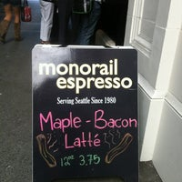 Photo taken at Monorail Espresso by Stan C. on 8/30/2012