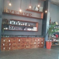Photo taken at Verve Coffee Roasters by Loren L. on 4/14/2012