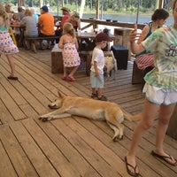 Photo taken at Pirate's Cove Marina & Restaurant by Aven on 6/19/2012