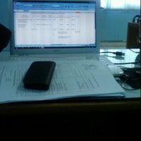 Photo taken at Kantor Imigrasi Kelas II Dumai by Ndo T. on 2/28/2012