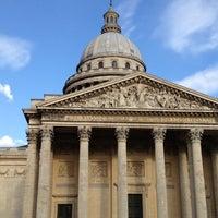 Photo taken at Panthéon by Al K. on 5/3/2012