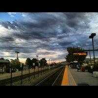 Photo taken at Hillsdale Caltrain Station by Olga M. on 9/6/2012