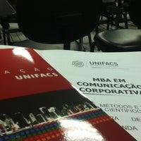 Photo taken at UNIFACS - Universidade Salvador by Rodrigo C. on 5/15/2012