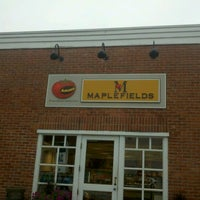 Photo taken at Maplefields Mobil by Robert J. on 7/26/2012