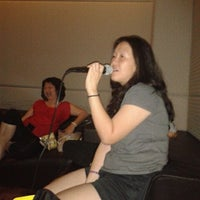 Photo taken at Karaoke First Residence by ivy F. on 5/8/2012