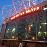 Photo taken at Manchester United Museum & Tour Centre by Khairul R. on 8/22/2012