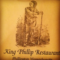 Photo taken at King phillip restaurant by Michael D. on 5/12/2012