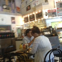 Photo taken at 42nd Street Bagel Cafe by Amber A. on 8/28/2012