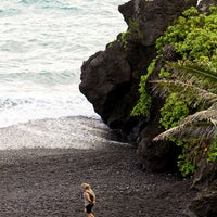 Photo taken at Waianapanapa State Park by Maui Hawaii on 5/30/2012